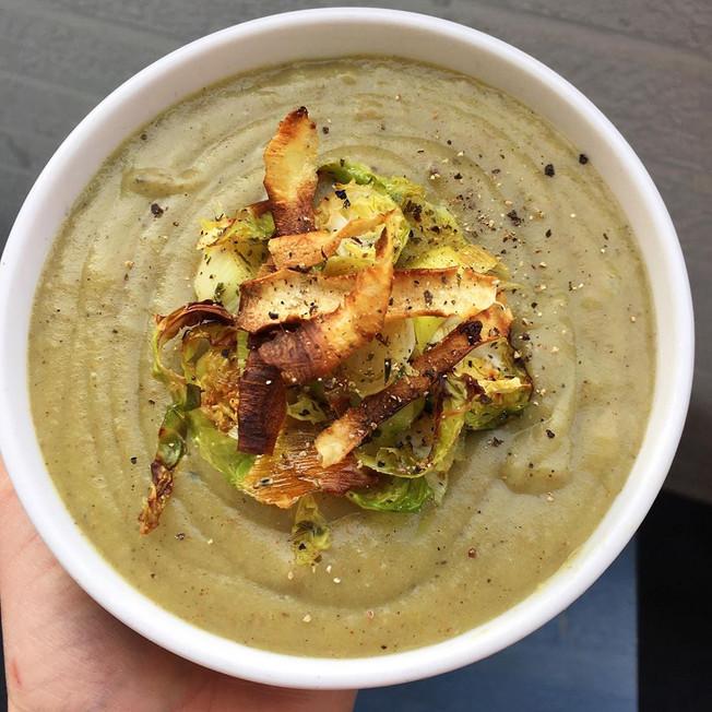 Festive Parsnip & Potato soup