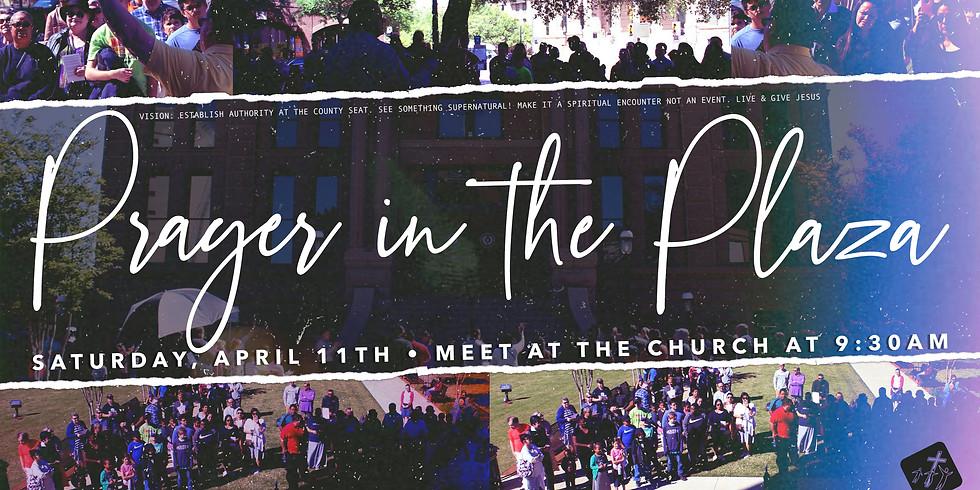 Prayer At The Plaza