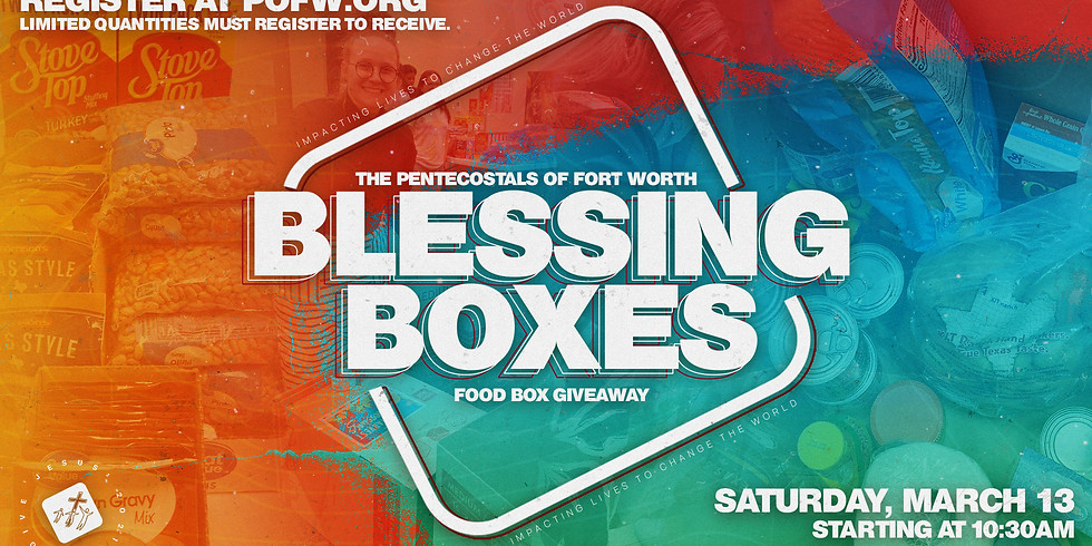 Blessing Box Registration