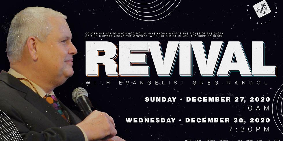 Revival with Rev. Greg Randol