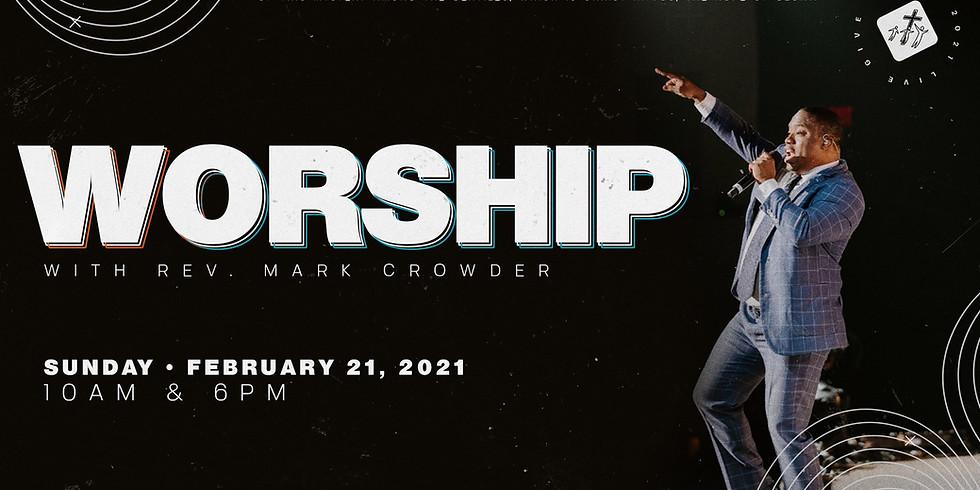 Worship with Rev. Mark Crowder