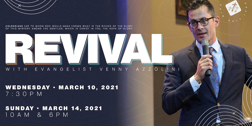 Revival with Rev. Venny Azzolini