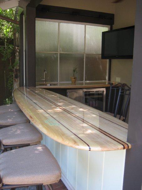 Custom balsawood bar