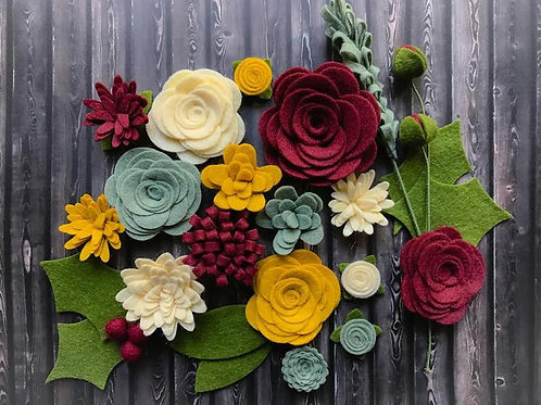 Victorian Holiday Flowers