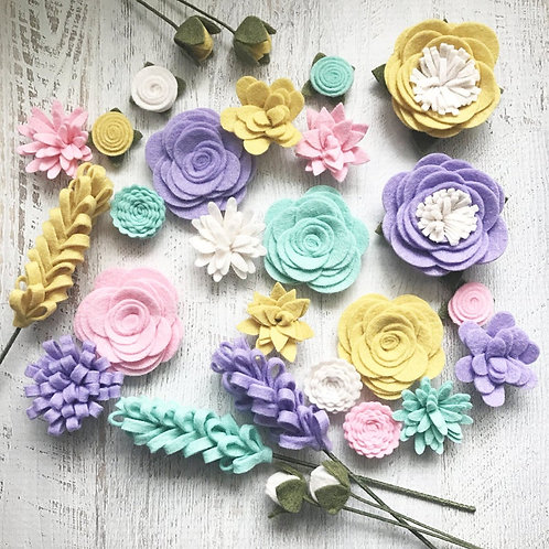 Spring Flower Embellishment