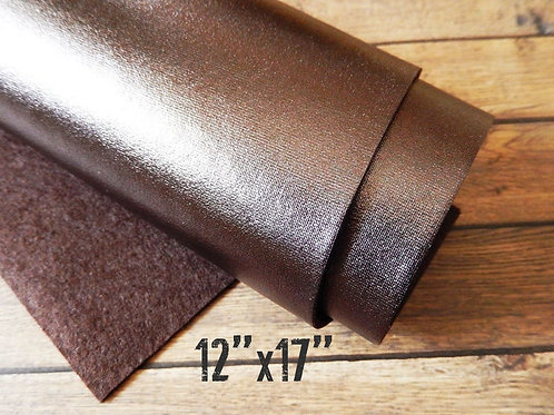 Metallic Felt Sheet - Bronze