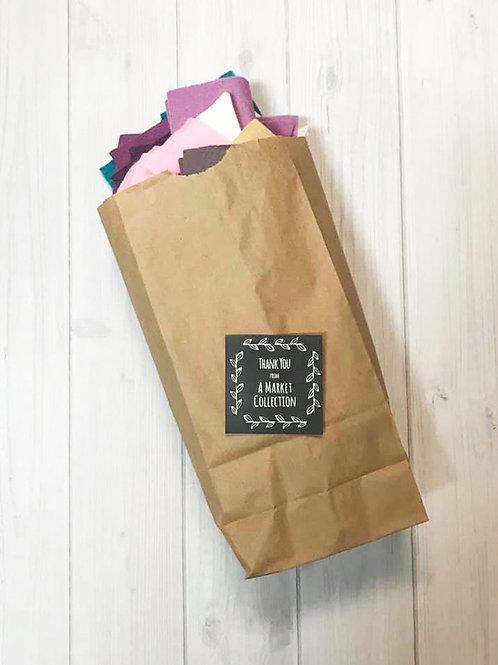 Wool Felt Scraps Grab Bag