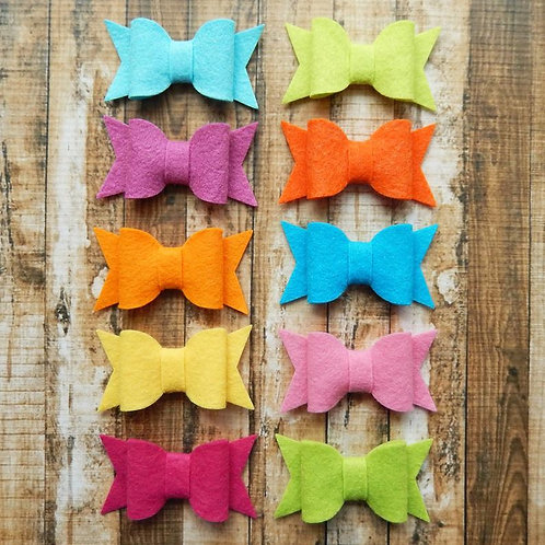 Chunky Bows Tropical Collection