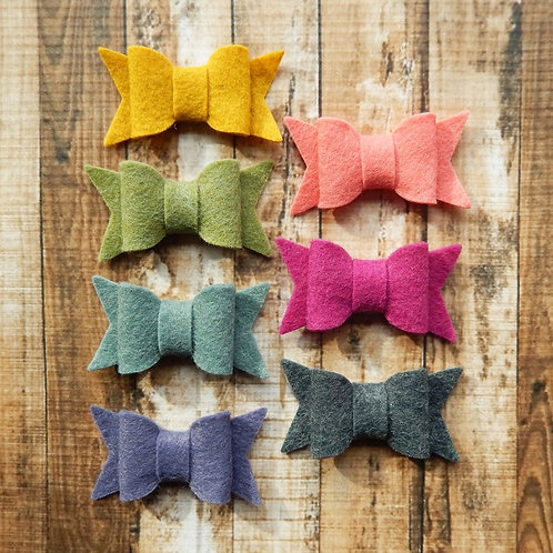 Small Chunky Bows Warmth Collection