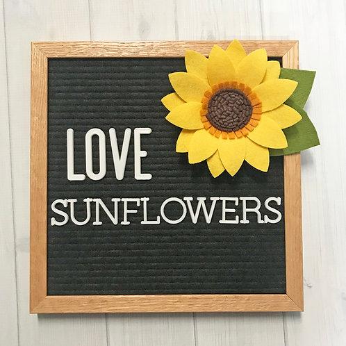 Sunflower for Letter Board