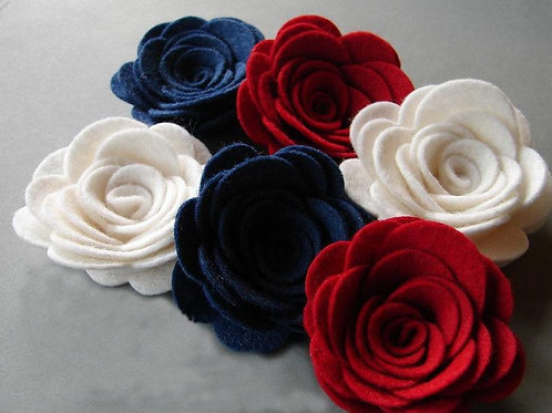 America Red White & Blue X-Large Posies