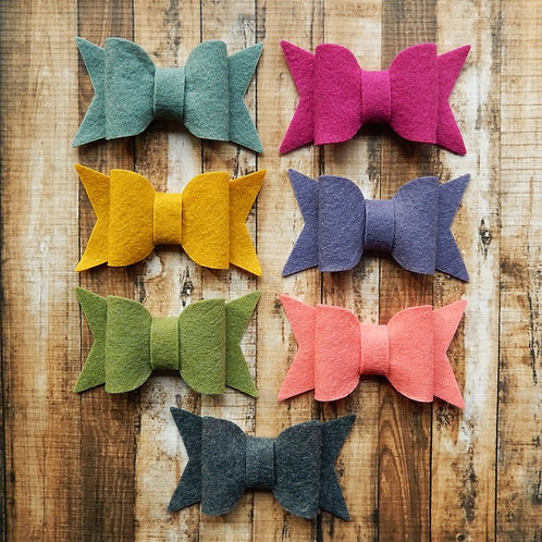 Large Chunky Bows Warmth Collection