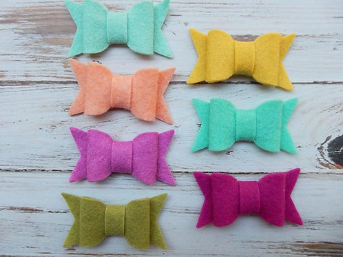 Small Chunky Bows Color Love Collection