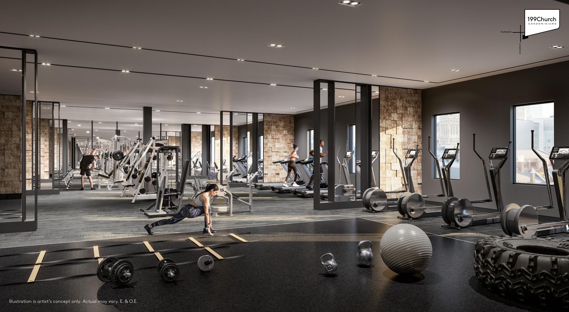 199 Church - Fitness Centre
