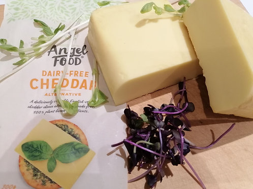SMOKED DAIRY FREE CHEDDAR CHEESE - Angel Food Brand