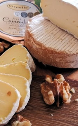 SMOKED CAMEMBERT - Ornelle Brand / Puhoi Valley Brand