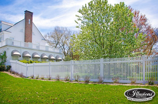 Matte Finish picket fence
