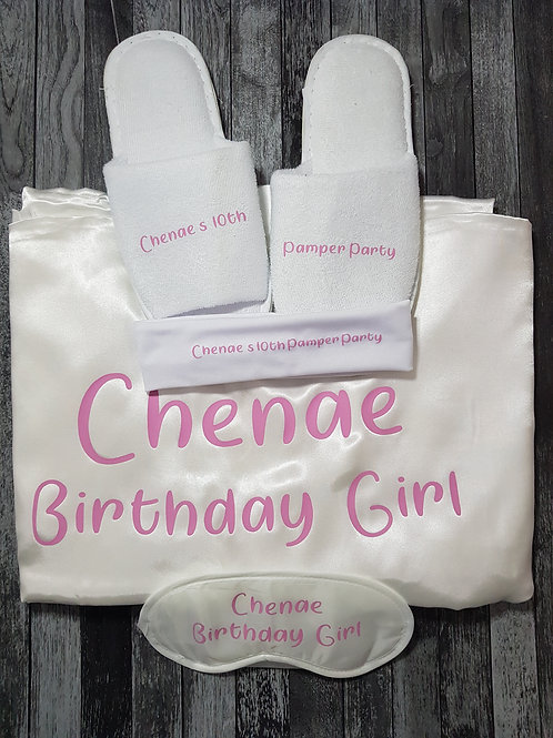 Girly Slumber Party Package