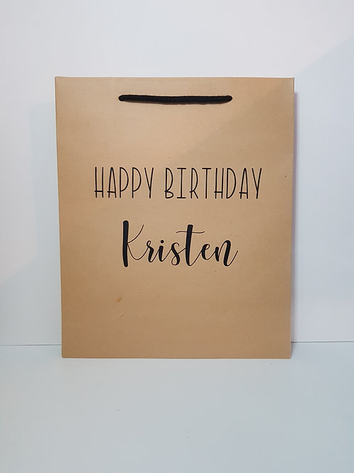 Large Birthday Gift Bag
