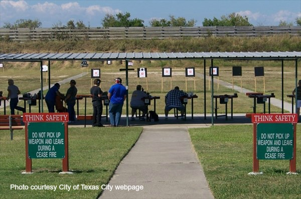 TEXAS CITY GUN RANGE