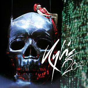 Kylie X Tour - Live CD - FRONT 1 - MINI.