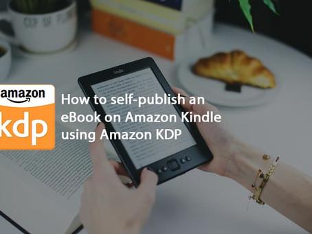 How to upload E-book on Amazon KDP (Kindle Direct Publishing)