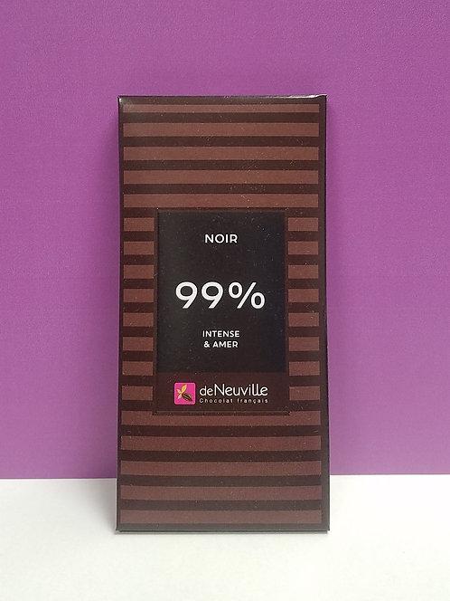 "TABLETTE CHOCOLAT ""99%"""