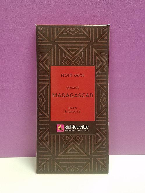 "TABLETTE CHOCOLAT ""MADAGASCAR"""