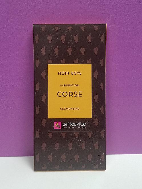 "TABLETTE CHOCOLAT ""CORSE"""