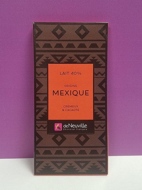 """TABLETTE CHOCOLAT """"MEXIQUE"""""""