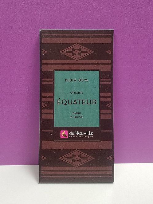 """TABLETTE CHOCOLAT """"EQUATEUR"""""""