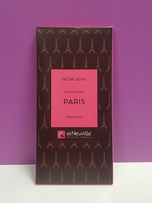 "TABLETTE CHOCOLAT ""PARIS"""