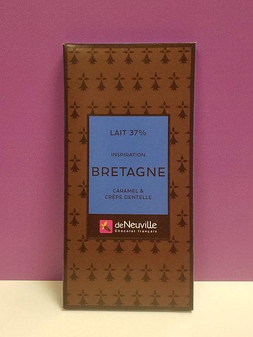 "TABLETTE CHOCOLAT ""BRETAGNE"""