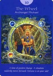 Wheel of Fortune Angel Tarot
