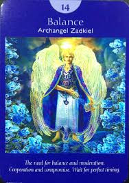 14 Balance Angel Tarot Personal growth with the Tarot