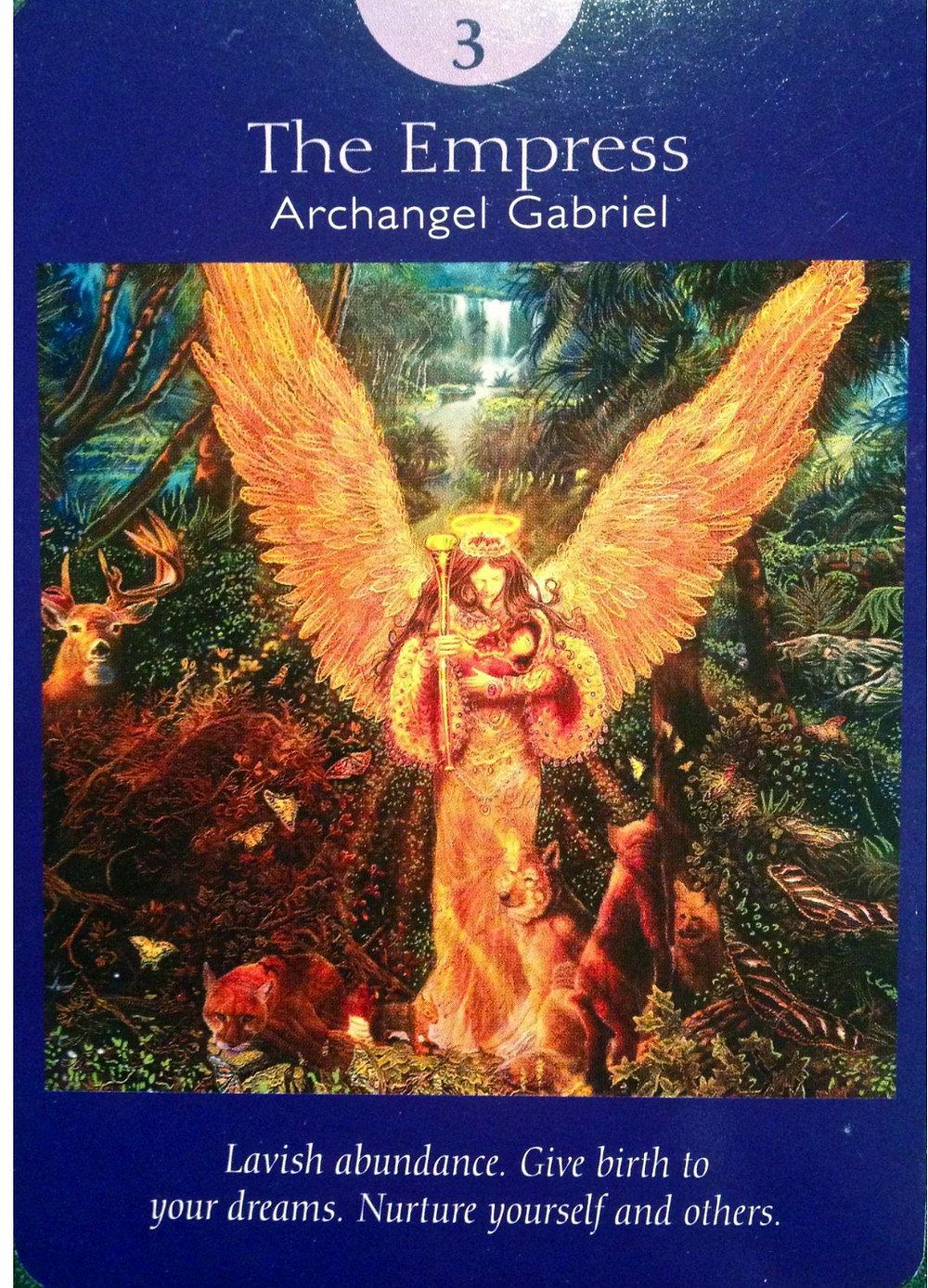 Marriage, Children and creativity the Empress Tarot Card and Archangel Gabriel