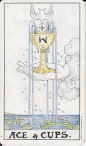 ace of cups/water unlimited love and compassion