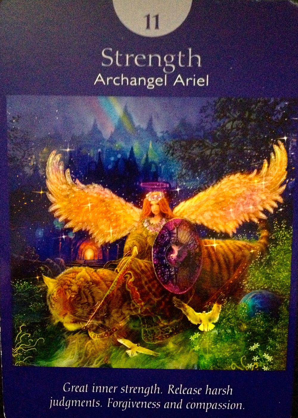 Psychic Tarot Readings Martha's Tarot  11 Strength