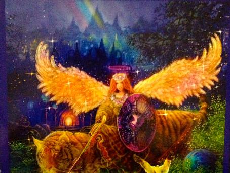 Major Arcana - 12 Strength - Archangel Ariel