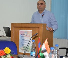 Ambassador of Armenia in India, Armenian Embassy in India, Ambassador Armen Martirosyan, India-Armenia relations , Armenian Diplomacy