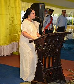 Mrs Rupkatha Sarkar, Principal of La Martiniere orGirls'Kolkata