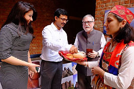 JNU, Ambassador Achal Malhotra,