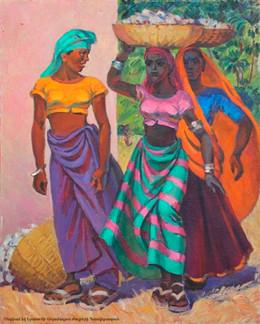 Sunny India of the Aslamazyans-An Exhibition