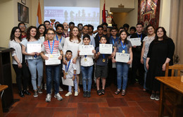 Third 'Indo-Armenian Friendship' Chess Tournament held in Yerevan, Armenia.