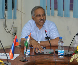 Ambassador T. Suresh Babu, India Armenia, India Mongolia, Indian Ambassador to Mongolia