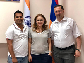 """Armenian MP and head of """"Armenia-India Friendship Group of the National Assembly of the Republic of"""