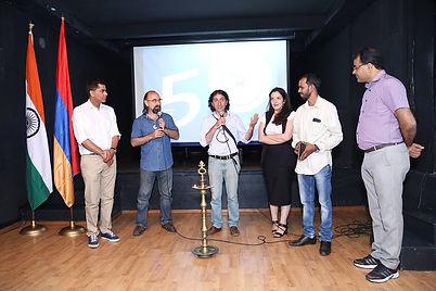 India, Armenia, Naregatsi Art Center, Naregatsi Institute, Ambassador Yogeshwar Sanghwan, IAF, Indiam Embassy  Yerevan Armenia Kantakishore Moharana