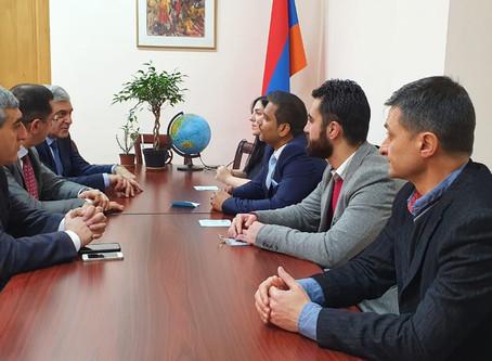 IAF Visits Parliament of Armenia