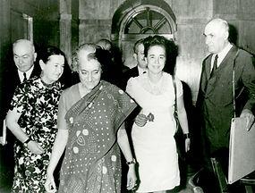 Indira Gandhi, Armenia, Aslamazyan, India-Armenia, Armenians in India