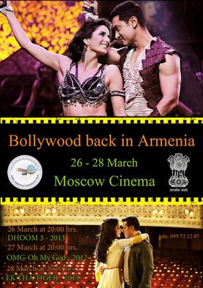 Bollywood back in Armenia